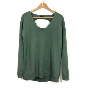 Express Sweater Open Back